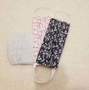 2FOR$15 HANDMADE cotton fabric face mask